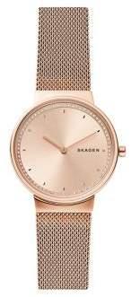 Skagen Annelie Mesh Stainless Steel Bracelet Watch