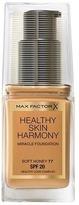 Max Factor Healthy Skin Harmony Foundation Soft Honey 77