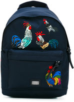 Dolce & Gabbana rooster backpack - kids - Polyamide - One Size