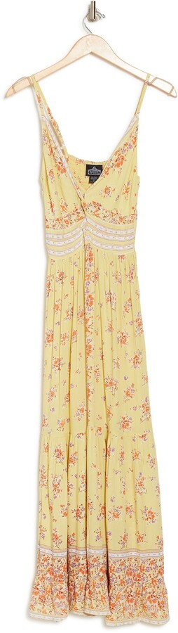 Thumbnail for your product : Angie Twist Front Keyhole Maxi Dress