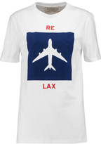 Etre Cecile Relax Flocked Cotton-Jersey T-Shirt