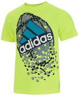 adidas Boys' Climalite Football Shatter Tee - Sizes 4-7