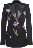 Dolce & Gabbana Floral Embellished Blazer