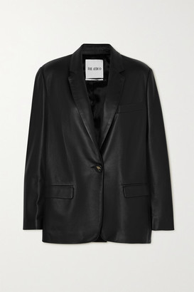 ATTICO Leather Blazer - Black