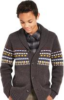 Cherokee Big Boys' Shawl-Collar Cardigan