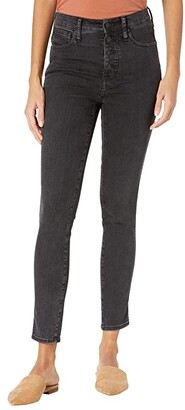 Madewell 10'' High-Rise Skinny Jeans in Robert Wash: Button-Font Edition (Robert Wash) Women's Jeans