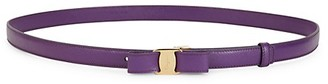 Salvatore Ferragamo Vara Bow Leather Belt
