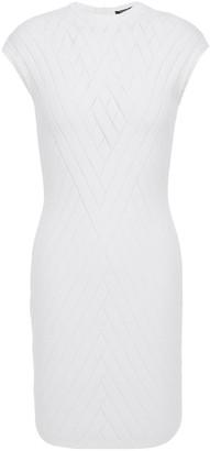 Balmain Pointelle-knit Mini Dress