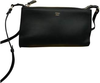 Fendi Black Leather Handbags