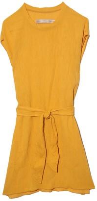Raquel Allegra Vija Dress in Golden Yellow