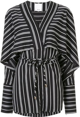Acler Cresler striped relaxed-fit blouse