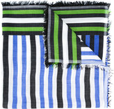 Faliero Sarti striped scarf - women - Silk/Modal - One Size