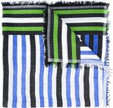 Faliero Sarti striped scarf