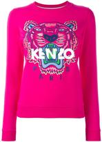 Kenzo Tiger sweatshirt - women - Cotton - M