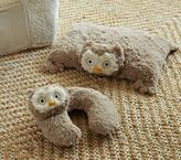 Pottery Barn Kids Owl Plush Neck Pillow