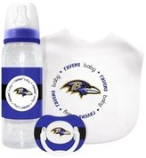 Baby Fanatic Baltimore Ravens Baby Gift Set