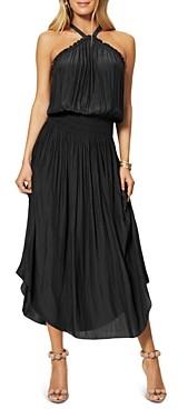 Ramy Brook Chloe Halter Midi Dress