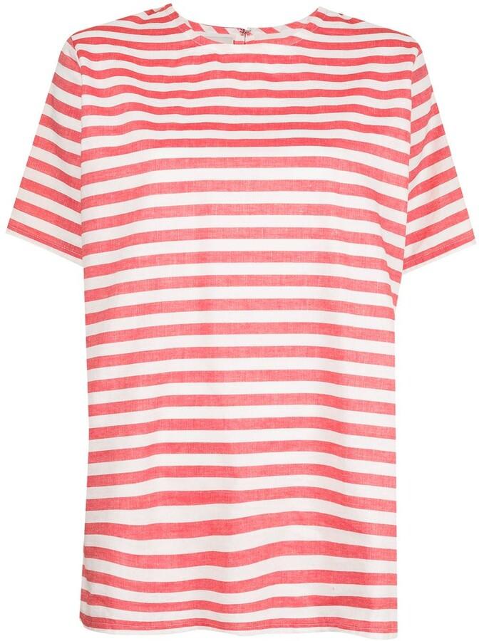 Bambah striped linen T-shirt