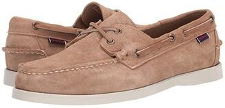 Sebago Dockside Portland Suede (Beige/Camel) Men's Shoes