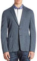 Armani Collezioni Yarn-Dyed Cotton Sportcoat