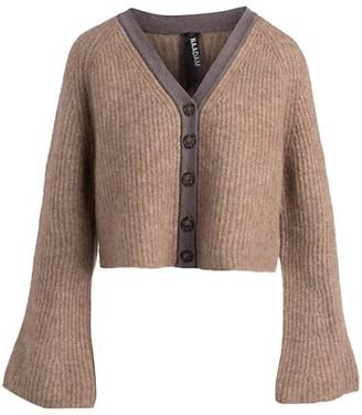 Naadam Bell-Sleeve Cardigan