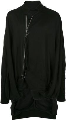 Julius Oversized High-Collar Jacket
