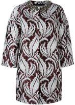 Giambattista Valli jewel-embellished coat - women - Polyester/Silk - 42