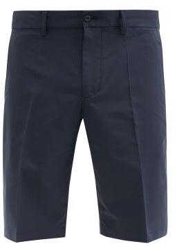 J. Lindeberg Somle Recycled-fibre Blend Golf Shorts - Navy