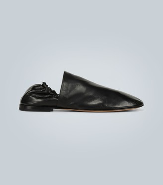 Bottega Veneta Soft leather slip-on loafers