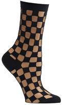 Ozone Women's Sheer Square Crew Socks