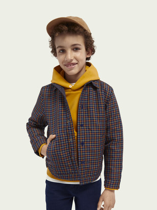 Scotch & Soda Reversible quilted shirt jacket | Boys