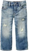 Gap Original fit distressed jeans (light wash)