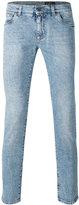 Dolce & Gabbana denim slim-fit jenas - men - Cotton/Spandex/Elastane - 44