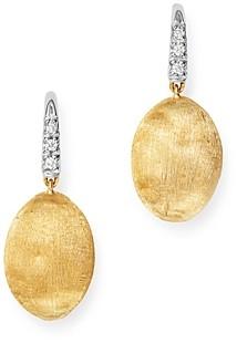 Marco Bicego 18K Yellow Gold Siviglia Diamond Drop Earrings - 100% Exclusive