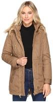 Brigitte Bailey Patience Polyfilled Jacket w/ Faux Fur Hood