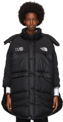 MM6 MAISON MARGIELA Black The North Face Edition Down Circle Coat