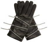 Causse 'Must' leather gloves with zips