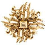 Oscar de la Renta Gold-Tone Brooch
