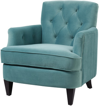 Jennifer Taylor Kelly Button Tufted Accent Arm Chair