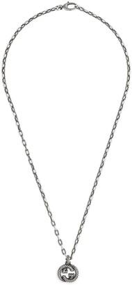 Gucci Silver necklace with InterlockingG