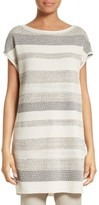 Lafayette 148 New York Women's Metallic Twill Stitch Tunic