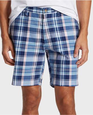 "Nautica Men 8.5"" Classic-Fit Plaid Shorts"
