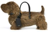 Thom Browne 'Hector' tote bag - men - Leather/Coypu Fur - One Size