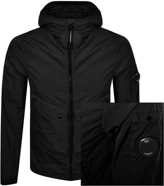 C.P. Company Hooded Jacket Black