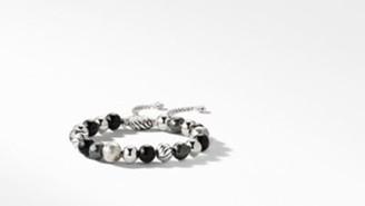 David Yurman Davidyurman Dy Elements Bracelet With Black Onyx And Hematine, 8Mm