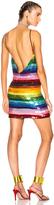 Ashish Backless Mini Dress