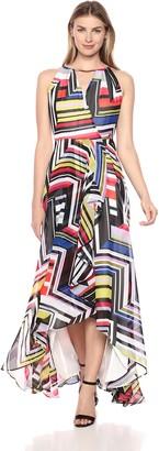 Sangria Women's High-Low Maxi Dress