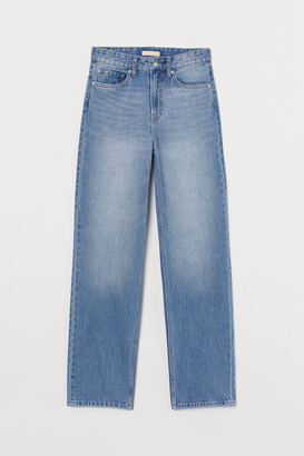 H&M Straight High Waist Jeans