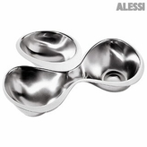 Alessi Babyboop Three Section Hors D'Oeuvre Tray