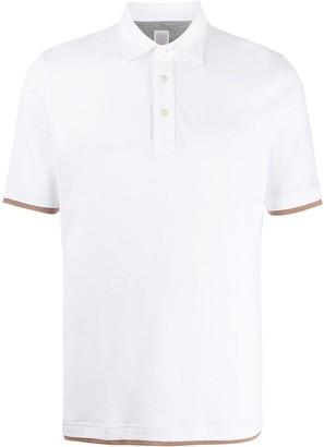 Eleventy Layered-Effect Polo Shirt